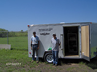 portable shop trailer